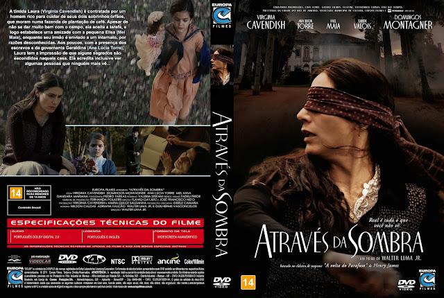 Capa DVD Através da Sombra [Custom]