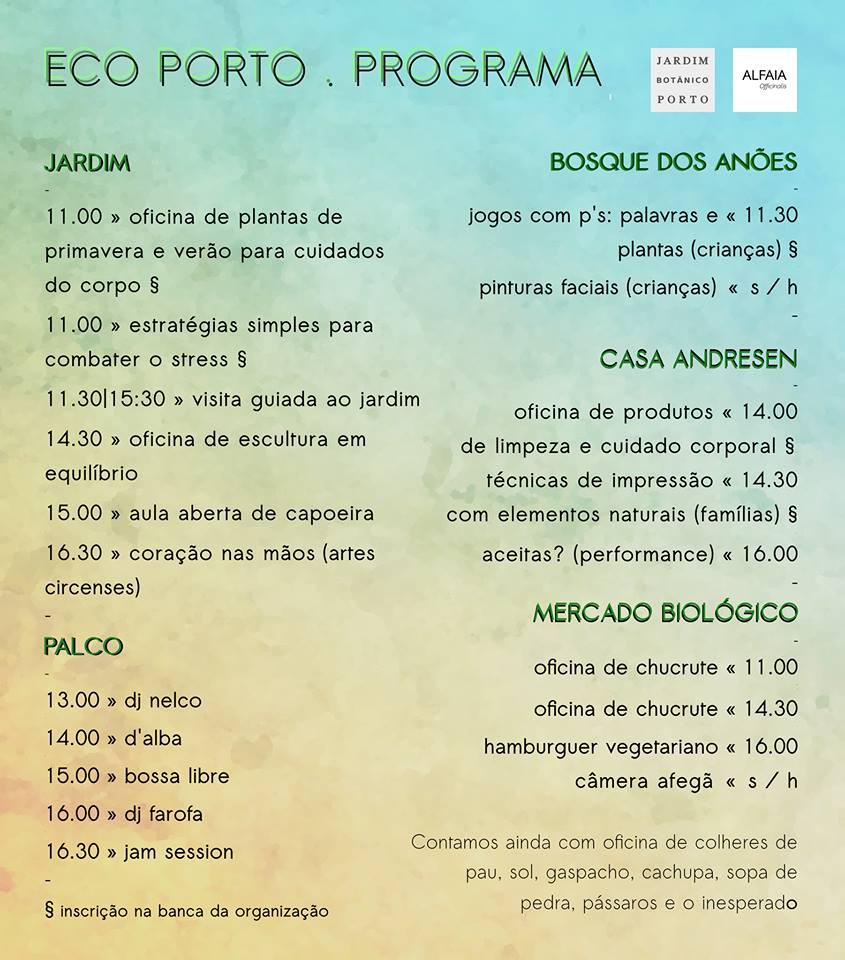 Programa do Eco Porto
