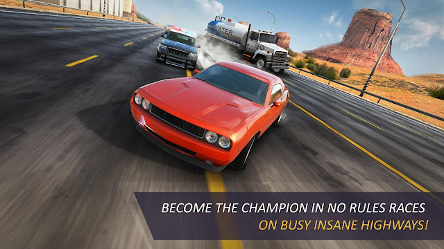 Tampilan Game CarX Highway Racing Android
