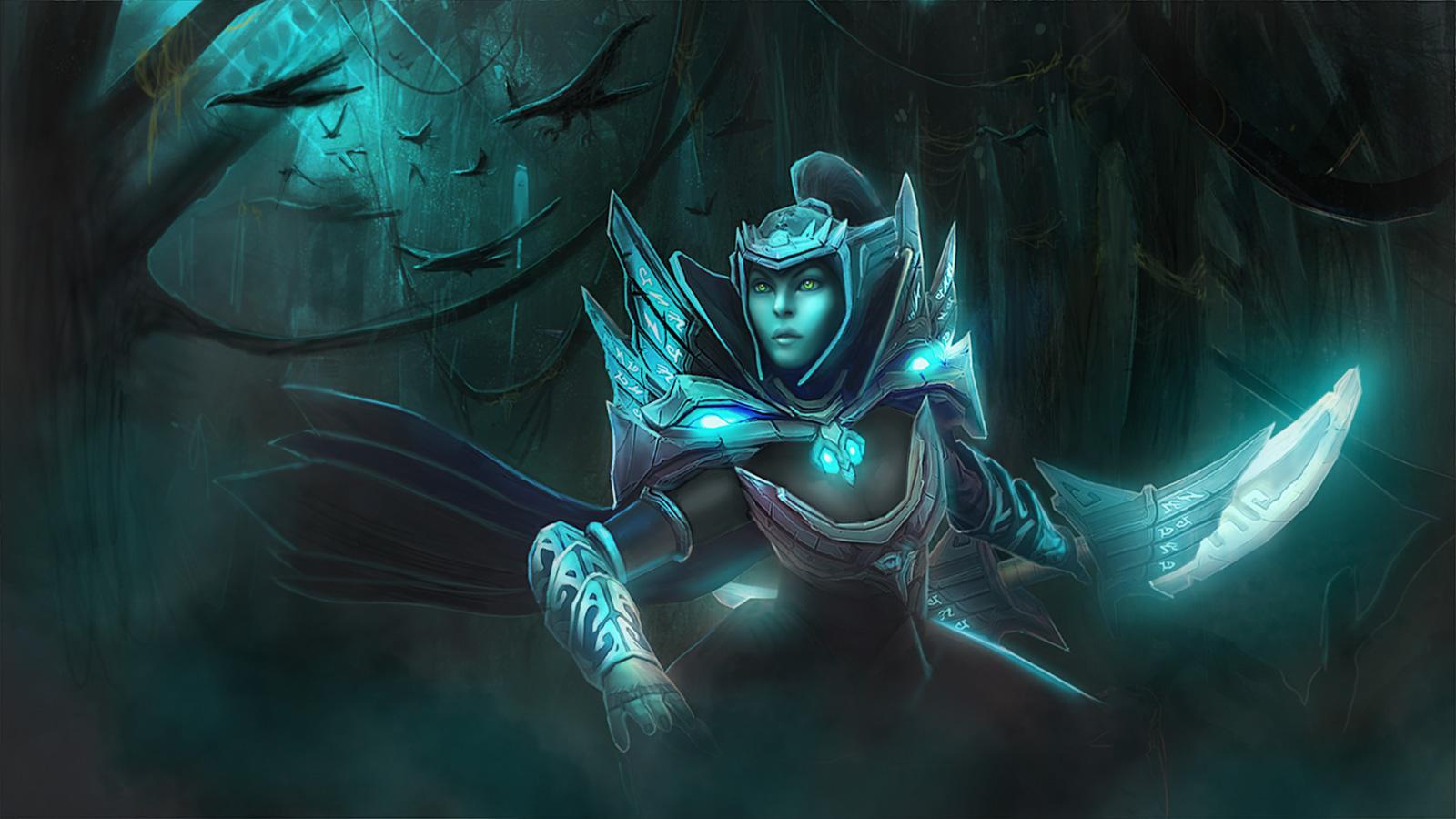 Phantom Girl Wallpaper Guia Como Jugar Con Phantom Assassin Dota 2 Guia De Dota