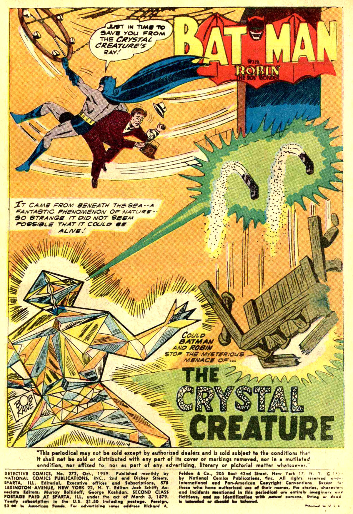 Read online Detective Comics (1937) comic -  Issue #272 - 3