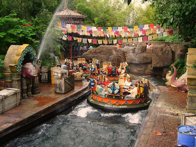 Kali River no Animal Kingdom