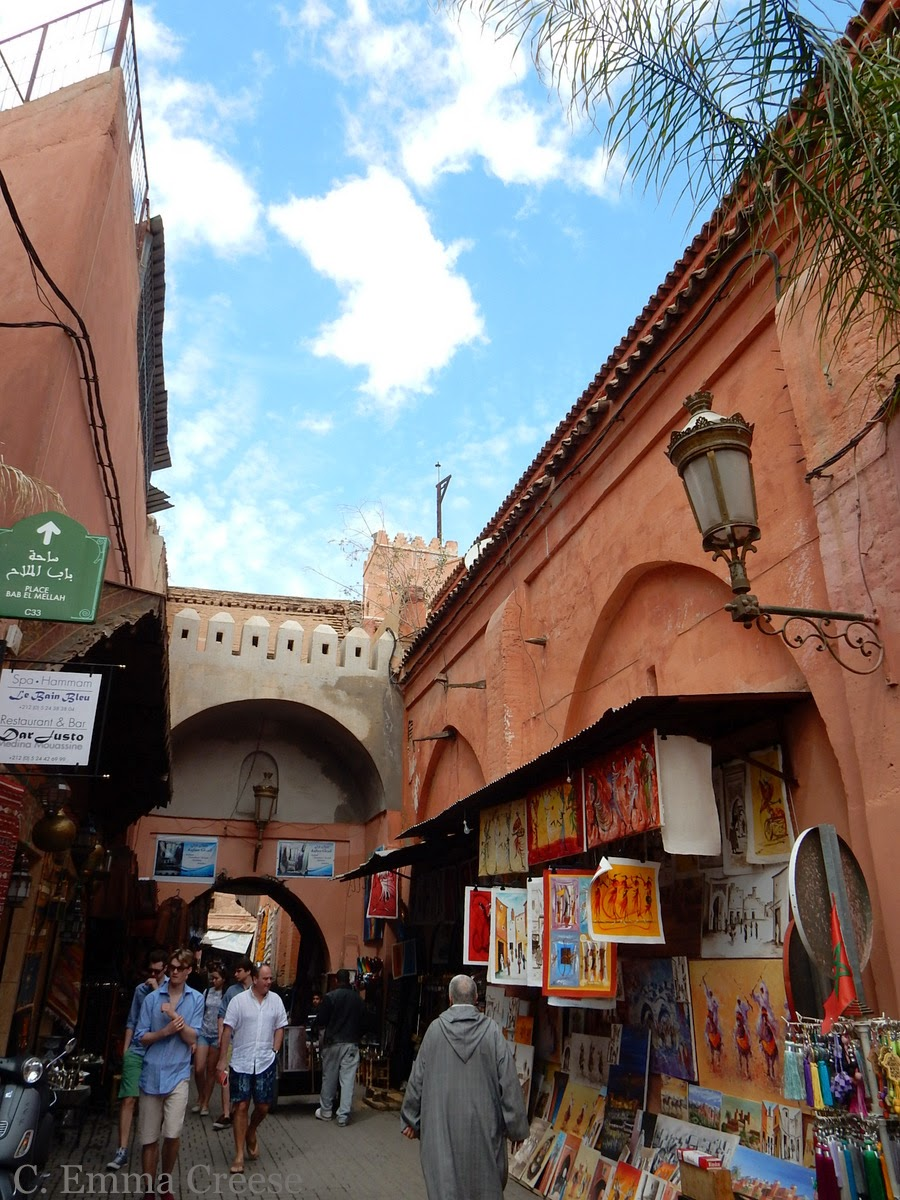 Souk of Marrakesh Adventures of a London Kiwi