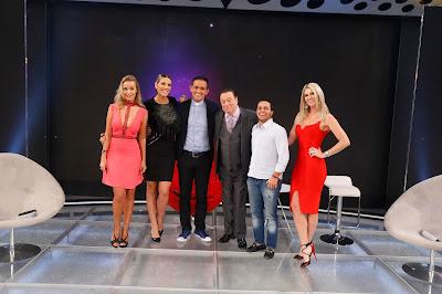 Lola, Ciça, Aldo Quintão, Raul, Thammy e Val (Crédito: Rodrigo Belentani/SBT)