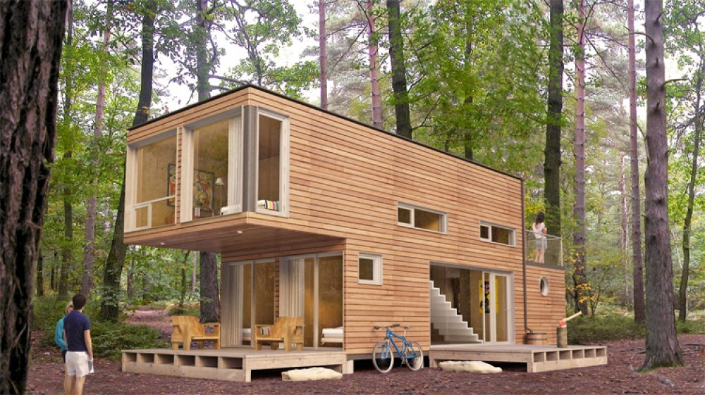 The Forest Cabin Container House