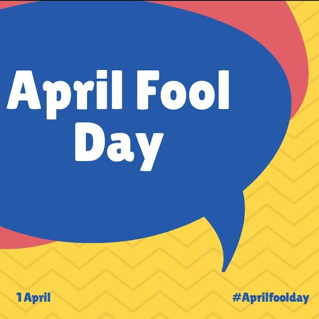 April Fool day 2018