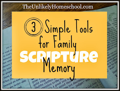 3 Simple Tools for Family Scripture Memory-The Unlikely Homeschool