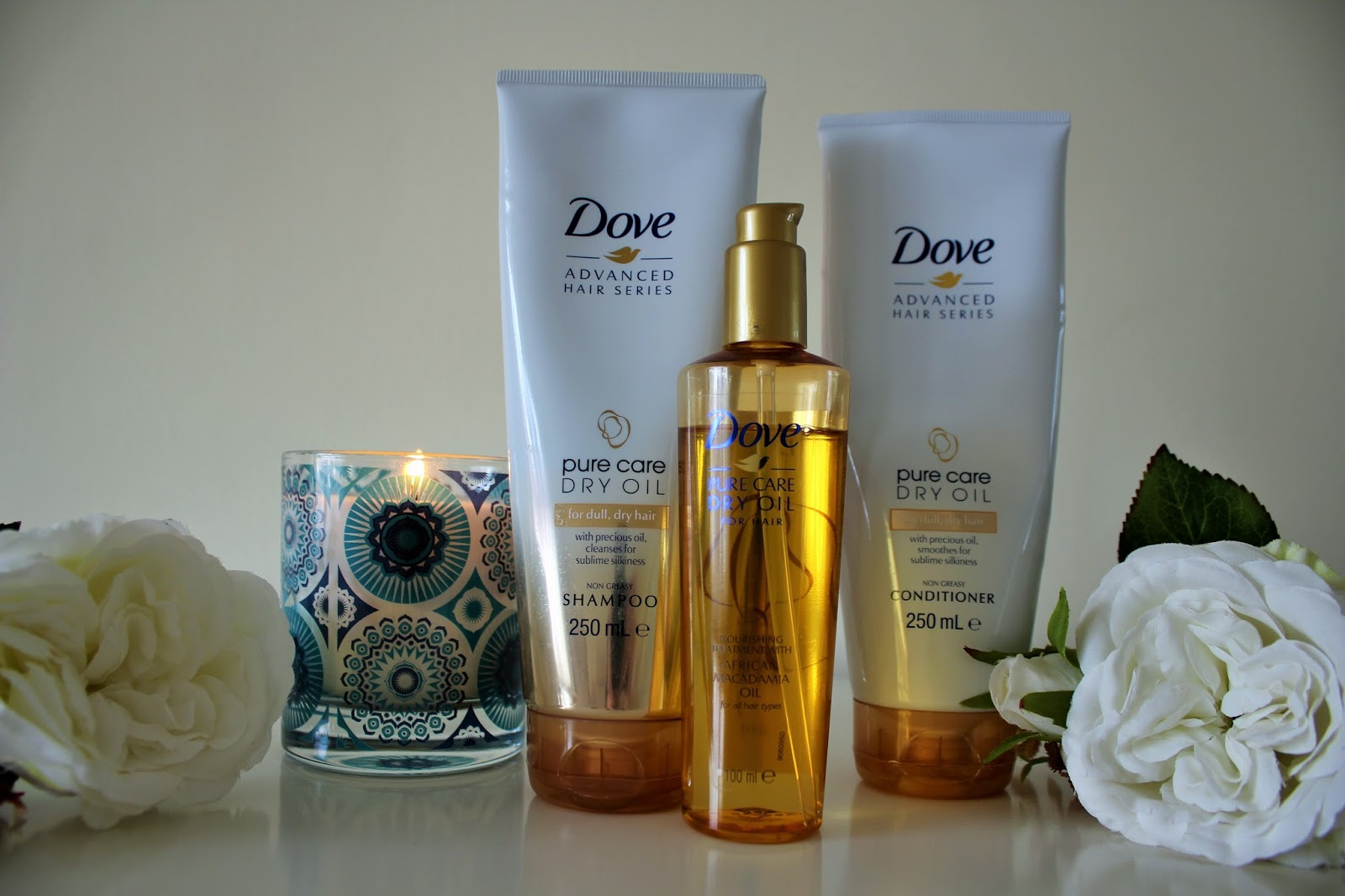 April Favourites 2017 - Dove Dry Oil Hair Care Range - Shampoo, Conditioner and Treatment Oil