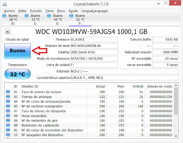 Windows: No reconoce disco duro externo