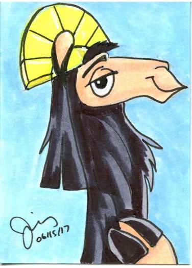 Kuzco Sketch Card