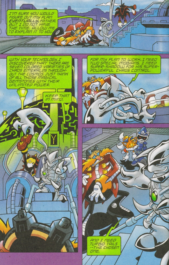 Read online Sonic The Hedgehog comic -  Issue #168 - 19