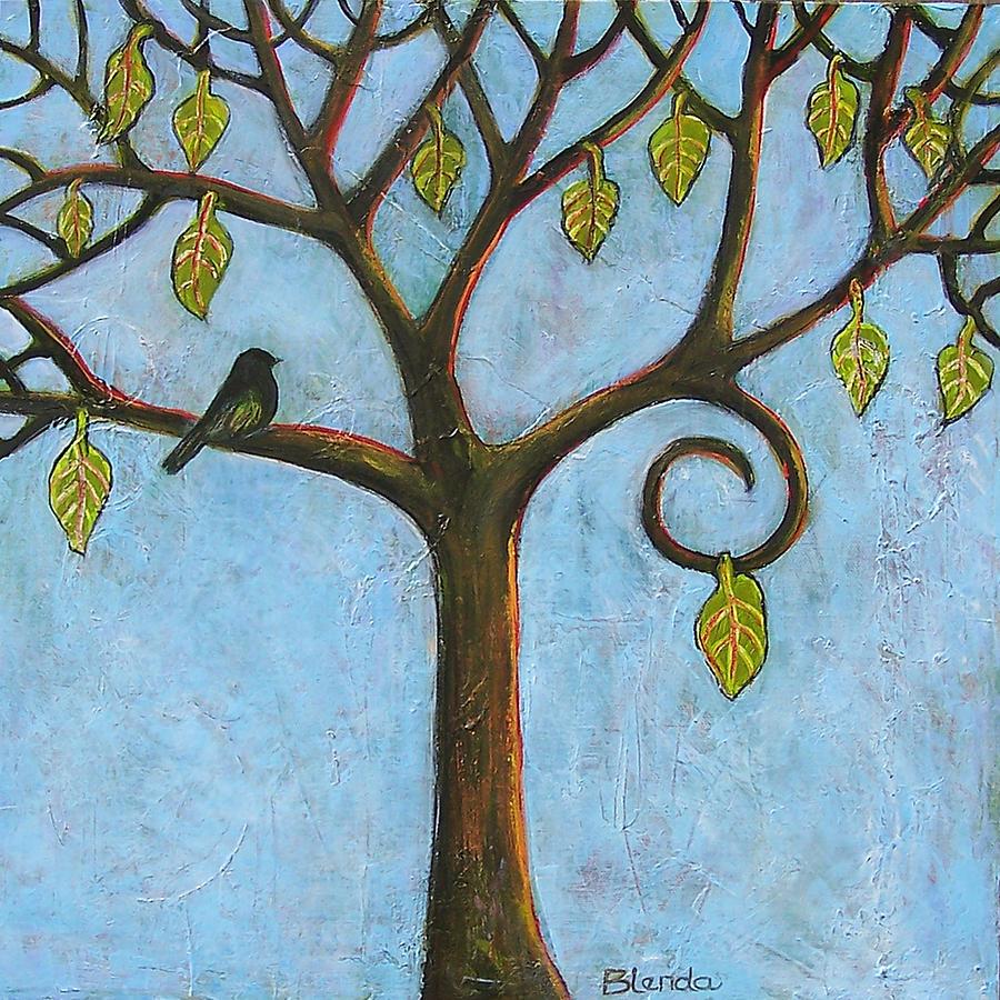 Cuadros modernos pinturas y dibujos pintar arboles en for Imagenes de cuadros abstractos faciles de hacer