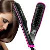 Apalus Hair Straightening Brush, Ceramic Hair Straightener, Straight Hair Styling