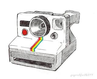Pink Toe Press: Polaroid Land Camera