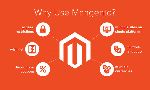 Advantages of Magento platform for ecommerce website development