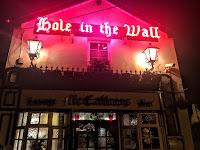 Hole in the Wall Pub in Dublin