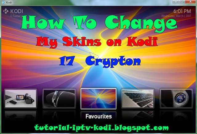 How To Change Skins for Kodi 17 crypton