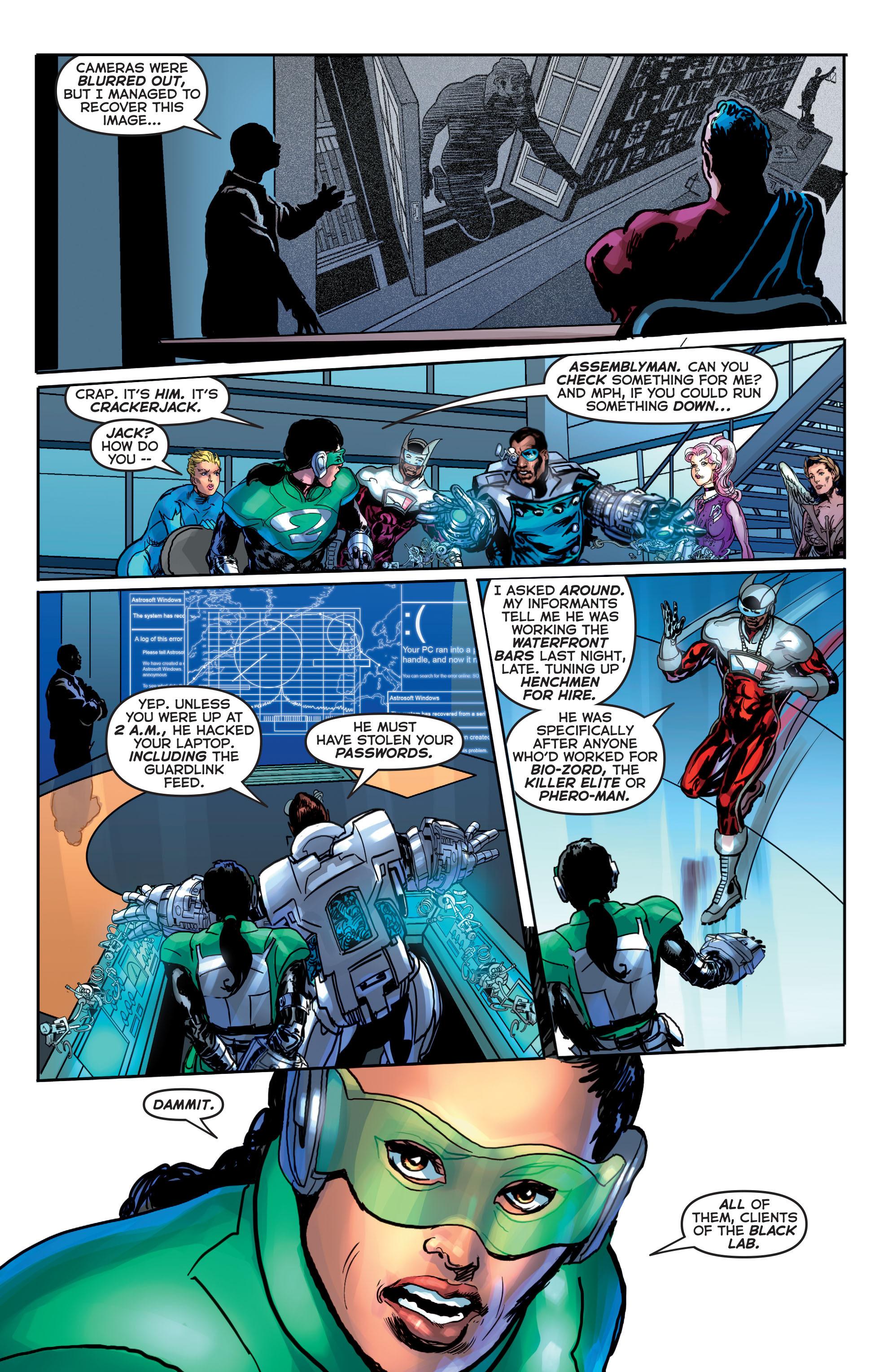 Read online Astro City comic -  Issue #20 - 22