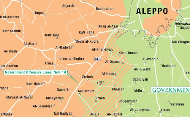 Jabhah Nusrah dan Pejuang Suriah Naikkan Level Serangan