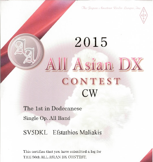 ALL ASIAN CW 2015 Certificate