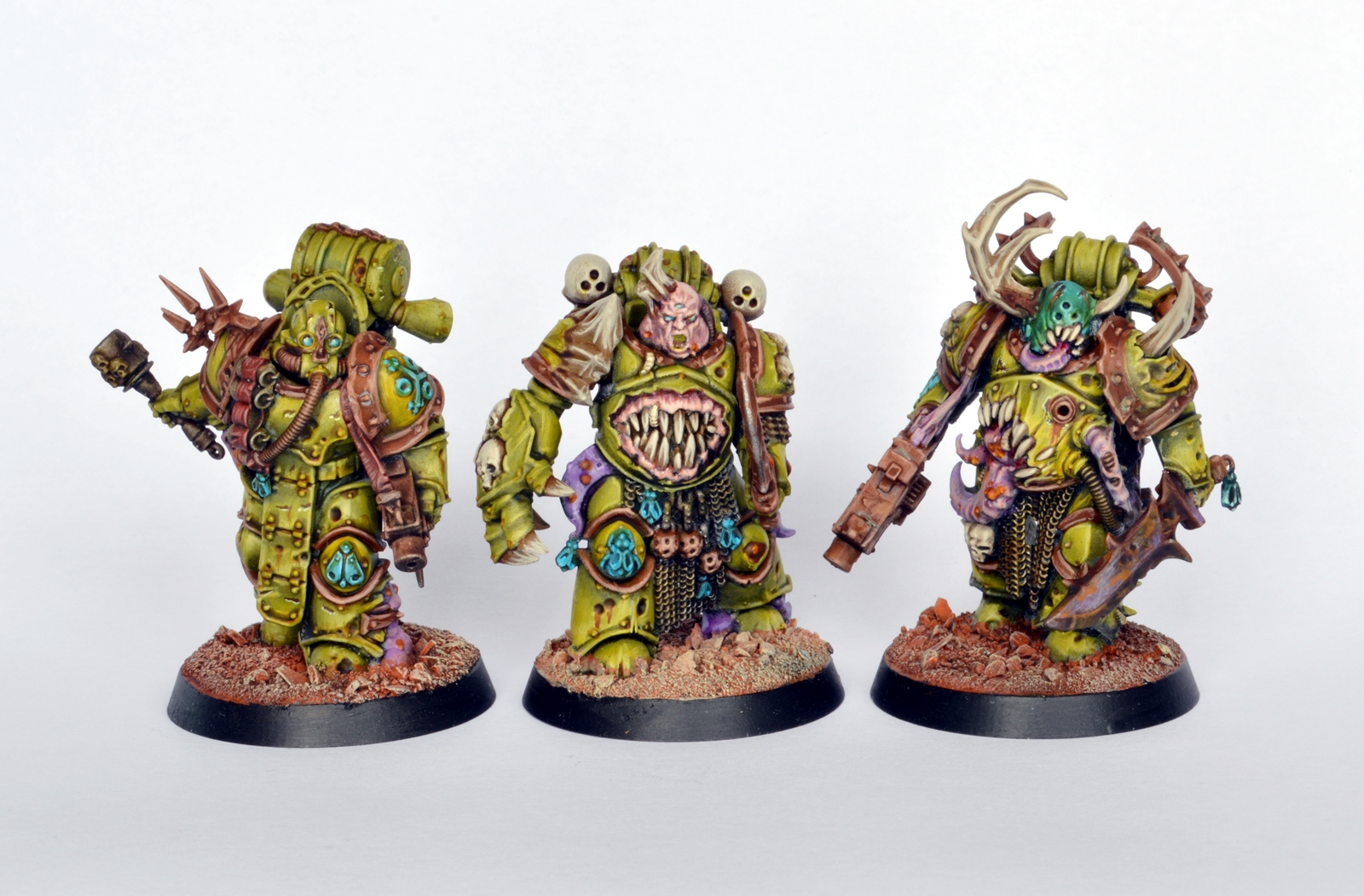 showcase death guard plague marines tale of painters. Black Bedroom Furniture Sets. Home Design Ideas