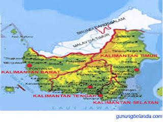 Apakah Borneo Merupakan Pulau Terbesar di Dunia?