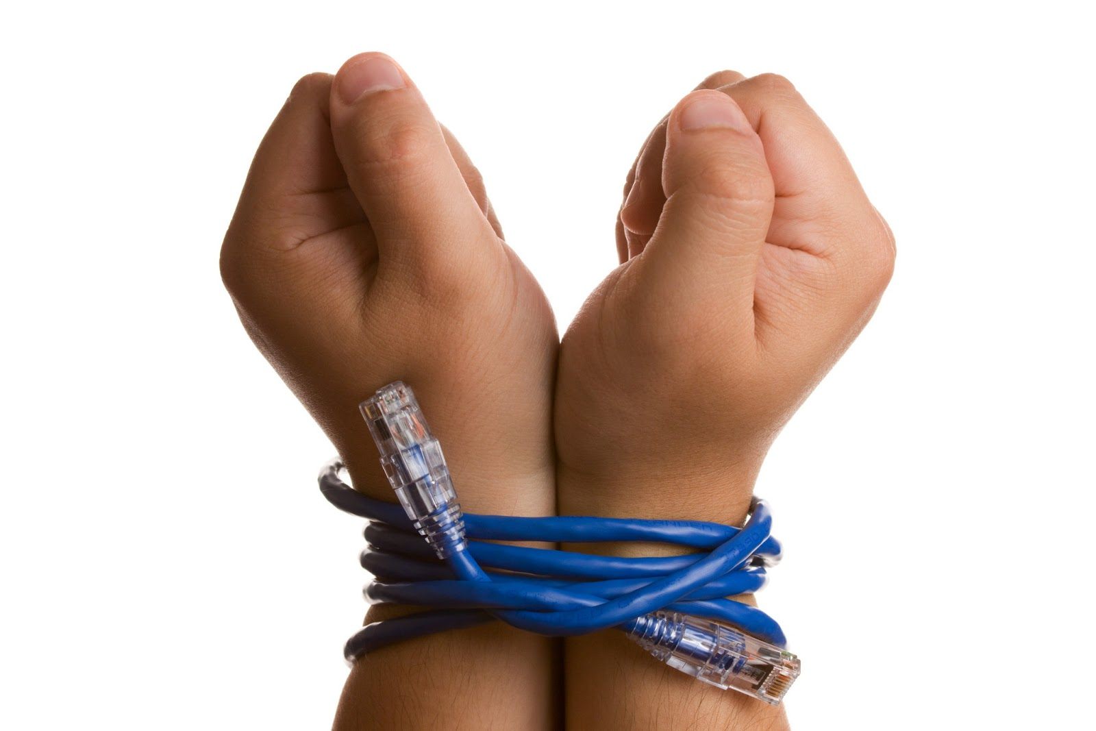 Hand, wrist, or ankle restraints can easily be done with cords, ribbons, tape measures, belts, soft ropes, pantyhose, ties, bandanas or scarves.