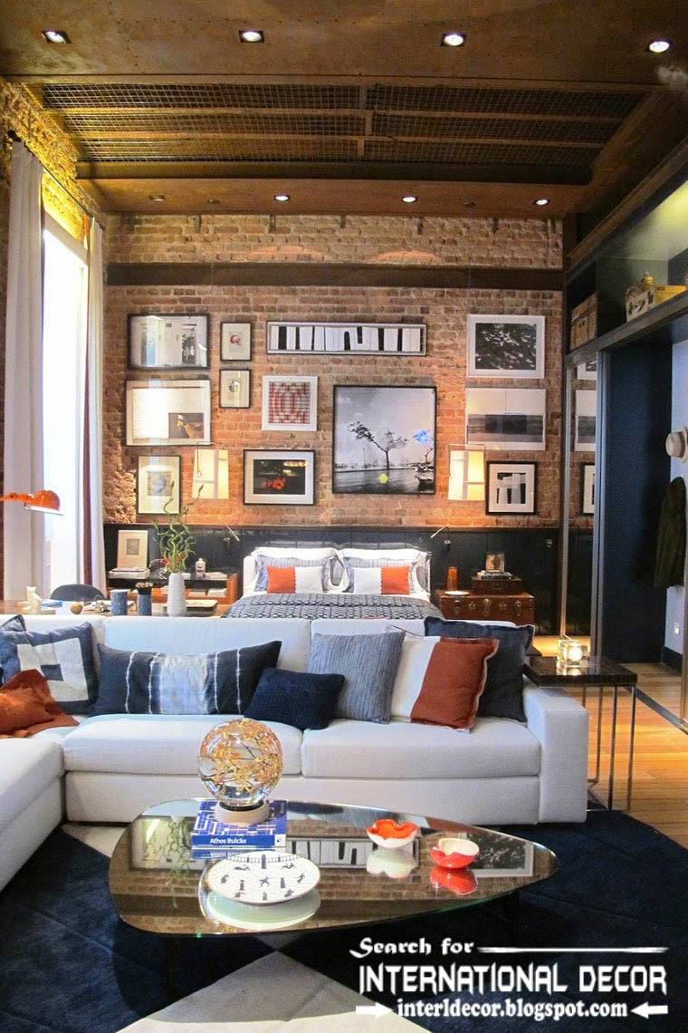 How to create loft interior design and style in your home for Look 4 design salon