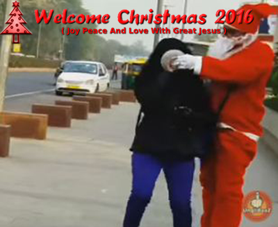 Funny-Santa