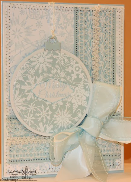 Dies-Circle Ornaments; Ornate Borders and Flowers