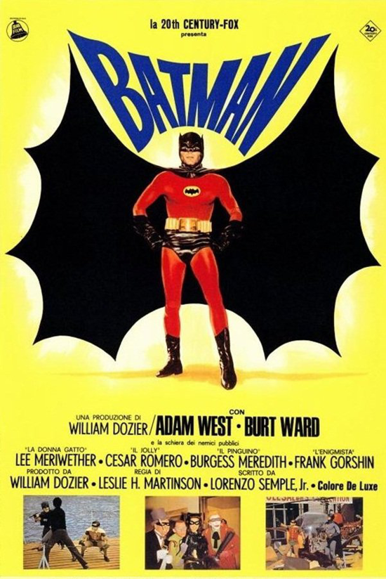 Batman movie 1966 Italian poster 2-2