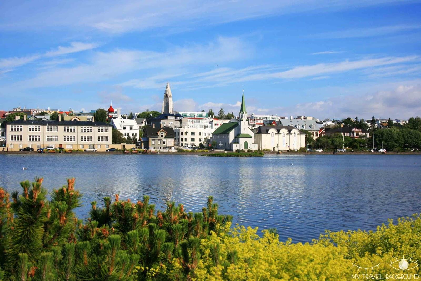 My Travel Background : que voir à Reykjavik? Visiter la ville en 1 jour, les essentiels - Le lac Tjornin