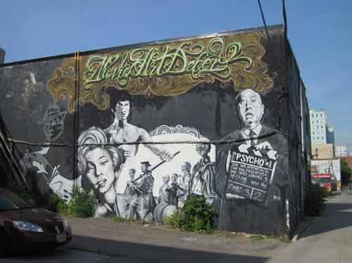 Dorval Road Graffiti Alleys