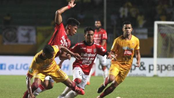 Sriwijaya FC vs Bali United