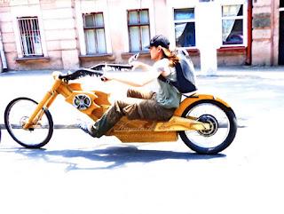 Дерев'яний електробайк деревянный электромотоцикл