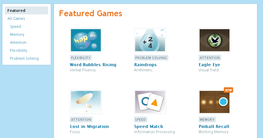 Re:Bert: Lumosity brain games review (the other learning