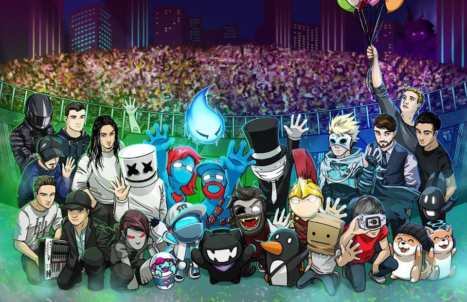 Deadmau5 Wallpaper Hd Related Keywords Amp Suggestions For Marshmallow Dj