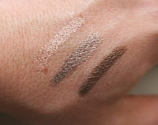 Rosie for Autogrpah Cream Eyeshadow Stick swatches