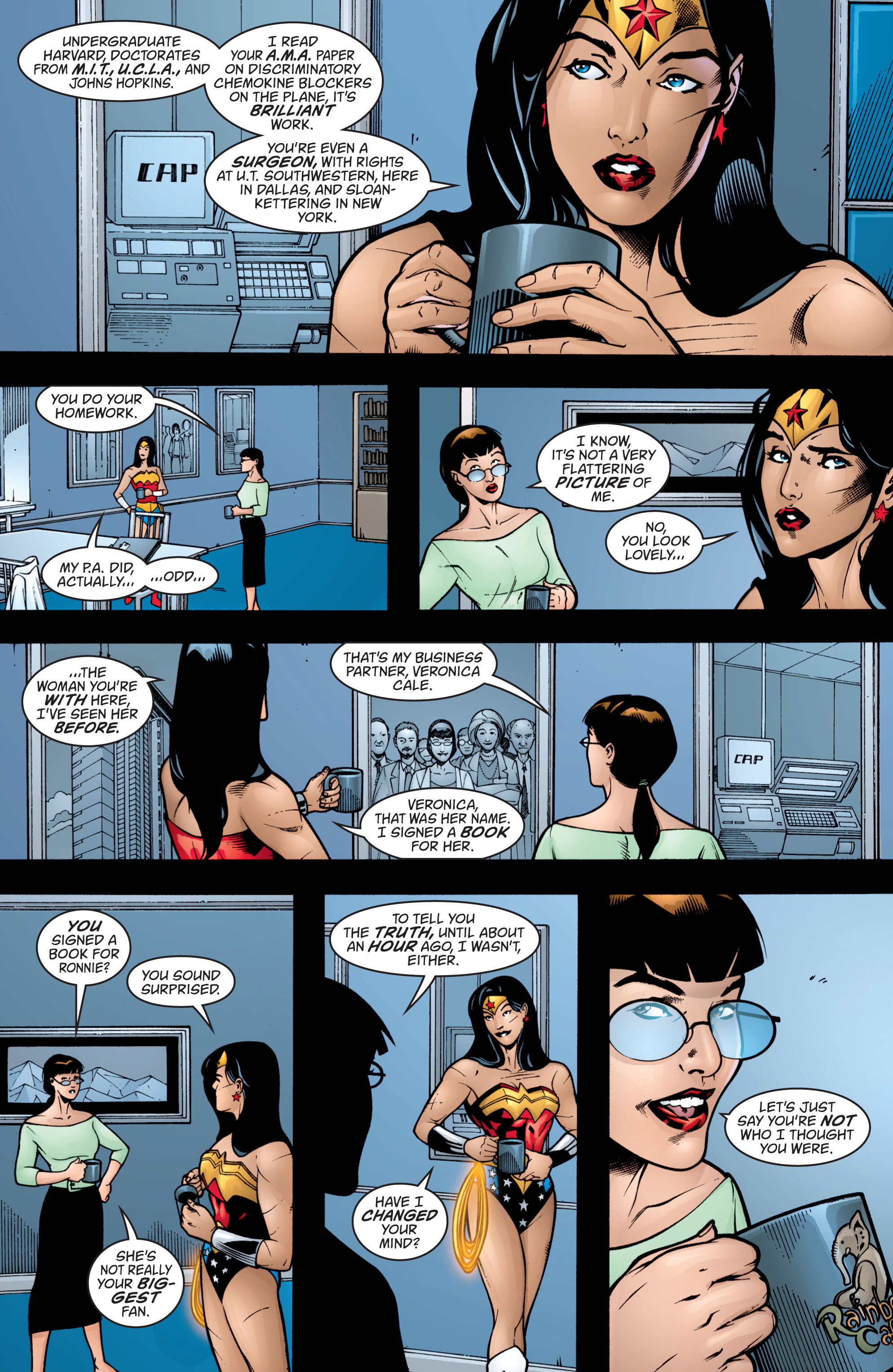 Read online Wonder Woman (1987) comic -  Issue #204 - 11