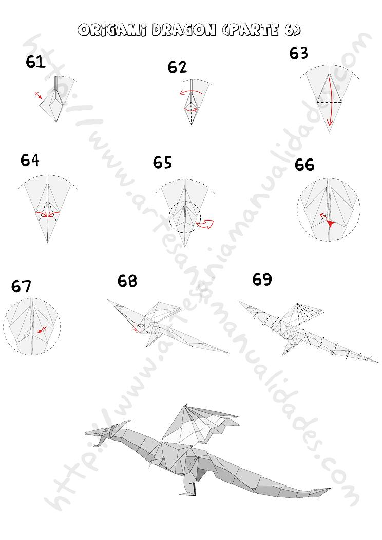 Origami Dragon Instructions Cake Ideas And Designs