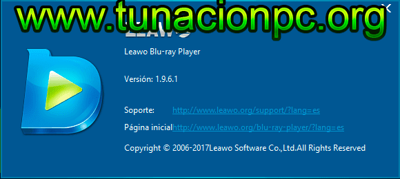 Leawo Blu-ray Player, Reproductor de Video Gratuito