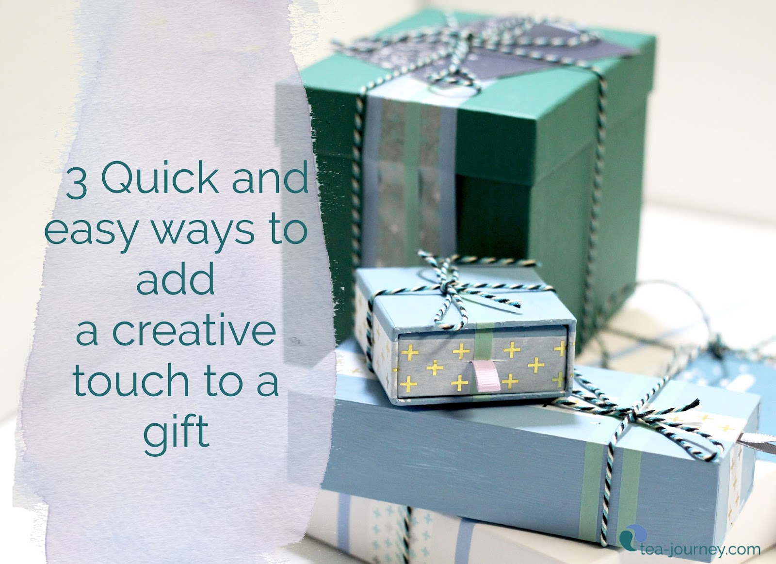 Get creative with your gift wrapping with these three super easy and cheap ways to add that creative touch. Reduce your footprint and reuse things you already may have around the house.