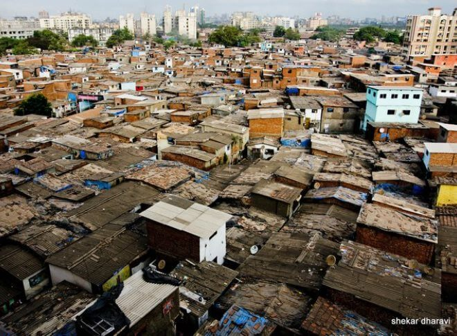 Dharavi slums, Mumbai - India