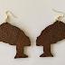Shop:  Queen Nefertiti Wood Earring