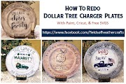 Painting & Decorating Dollar Tree Chargers