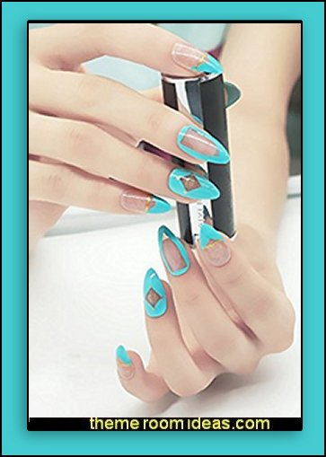 false nails - false nail stickons nail art design ideas -