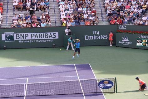 Emirates a punto de conseguir juego, set y partido en el tenis