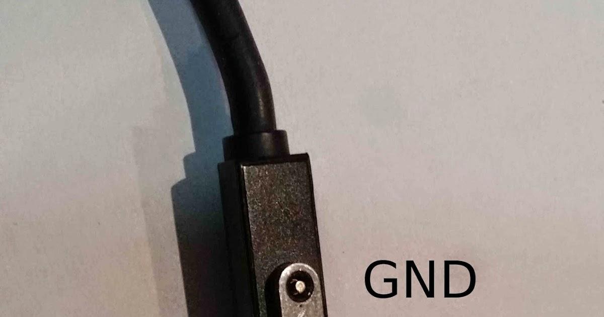 Thomson Family Blog Microsoft Surface Power Plug Pinout