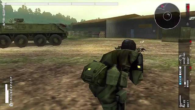 Game Metal Gear Solid : Peace Walker
