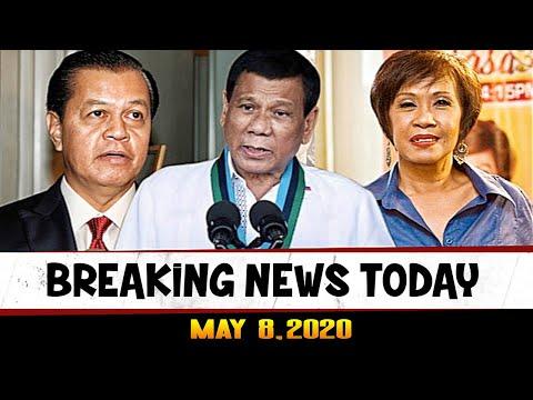BREAKING NEWS TODAY MAY 8, 2020 PRES DUTERTE ABS CBN SHUTDOWN UPDATE l NOLI DE CASTRO l DORIS BIGORN
